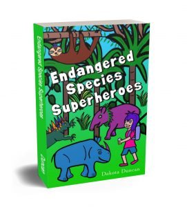 endangered species superheroes